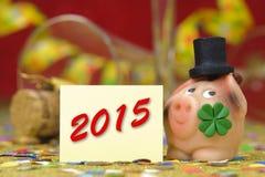 Nieuw jaar 2015 Royalty-vrije Stock Fotografie
