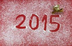 Nieuw jaar 2015 Stock Fotografie