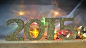 Nieuw jaar 2015 Royalty-vrije Stock Afbeelding