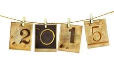 Nieuw jaar 2015 Stock Foto's