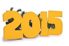 Nieuw jaar 2015, royalty-vrije stock fotografie