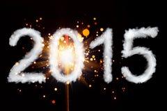 Nieuw jaar 2015 Stock Afbeelding