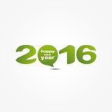 Nieuw jaar 2016 Royalty-vrije Stock Afbeeldingen