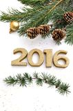 Nieuw jaar 2016 Royalty-vrije Stock Fotografie