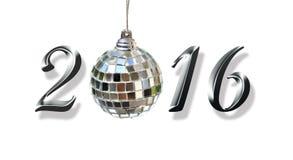 2016, nieuw jaar Stock Fotografie