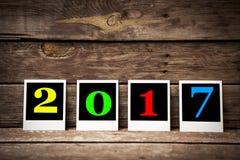 Nieuw jaar 2017 Royalty-vrije Stock Afbeeldingen