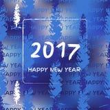 Nieuw jaar 2017 Royalty-vrije Stock Afbeelding