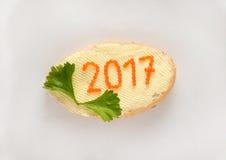 Nieuw jaar 2017 Royalty-vrije Stock Fotografie
