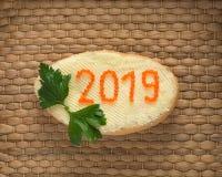 Nieuw jaar 2019 Stock Afbeeldingen