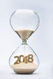 Nieuw jaar 2018 Royalty-vrije Stock Foto