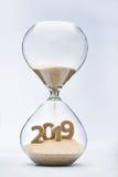 Nieuw jaar 2019 Stock Afbeelding