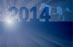 Nieuw jaar backround Royalty-vrije Stock Afbeeldingen