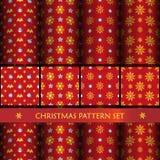 Nieuw jaar en christmass patroon Royalty-vrije Stock Fotografie