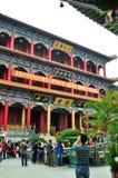 Nieuw jaar Jin Tai Temple Stock Fotografie