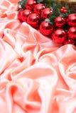 Nieuw jaar, Kerstmis, decoratie, slinger Royalty-vrije Stock Foto's
