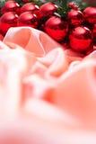 Nieuw jaar, Kerstmis, decoratie, slinger Stock Foto's