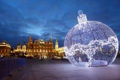 Nieuw jaar in Moskou Stock Afbeeldingen
