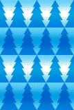 Nieuw jaar naadloos ornament met halftone effect met geometrische visgraat Royalty-vrije Stock Afbeelding