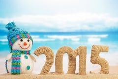 Nieuw jaar 2015 teken Stock Foto