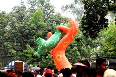Nieuw jaar 1422 van Bangladesh viering Stock Fotografie