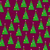 Nieuw-jaarbomen Stock Foto