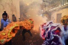 Nieuw jaarfestival Stock Afbeelding