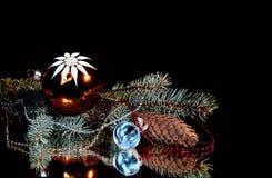 Nieuw jaarstilleven. Royalty-vrije Stock Afbeeldingen