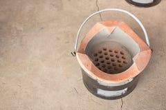 Nieuw kleifornuis voor het koken stock afbeelding