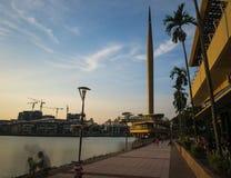 Nieuw Leeftijdsmonument in Putrajaya Maleisië Royalty-vrije Stock Afbeeldingen