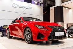 Nieuw Lexus RC F Stock Foto's