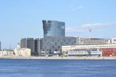 Nieuw modern commercieel centrum, St. Petersburg Stock Afbeeldingen