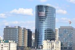 Nieuw modern commercieel centrum, St. Petersburg Stock Afbeelding
