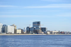 Nieuw modern commercieel centrum, St. Petersburg Stock Foto's