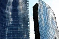 Nieuw modern district in Milaan Royalty-vrije Stock Afbeeldingen