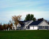 Nieuw Modern Huis Royalty-vrije Stock Afbeelding
