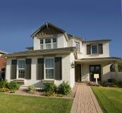 Nieuw modern huis Stock Fotografie