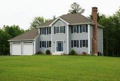 Nieuw modern huis. Royalty-vrije Stock Foto