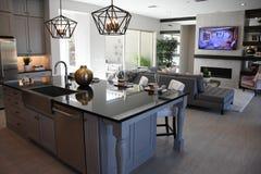 Nieuw Modern Klassiek Huis in Arizona royalty-vrije stock fotografie