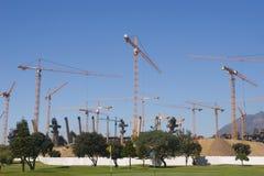 Nieuw Olympisch stadion Royalty-vrije Stock Afbeelding
