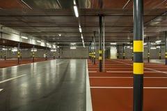 Nieuw ondergronds parkeren Stock Afbeelding