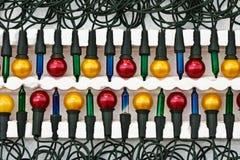 Nieuw pak lichten van Kerstmis Royalty-vrije Stock Afbeeldingen