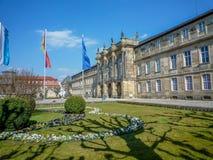 Nieuw Paleis Bayreuth Stock Afbeeldingen