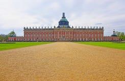 Nieuw Paleis in Sanssouci-Park in Potsdam Stock Afbeeldingen