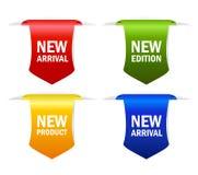 Nieuw pictogram Stock Afbeeldingen