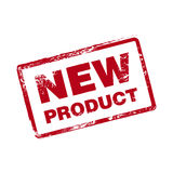 Nieuw Product Vectorzegel Royalty-vrije Stock Foto
