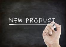Nieuw productwoord royalty-vrije stock afbeeldingen