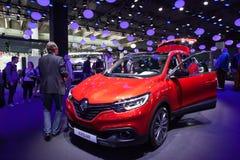 Nieuw Renault Kadjar bij IAA 2015 Royalty-vrije Stock Foto's
