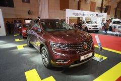 Nieuw Renault Koleos toont bij de auto van Maleisië van 2017 autoshow Royalty-vrije Stock Afbeelding