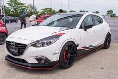 Nieuw skyactive Mazda 3 Royalty-vrije Stock Foto