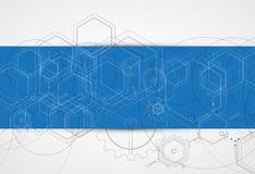 Nieuw Technologienetwerk Stock Foto